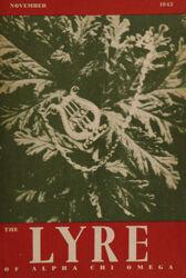 The Lyre of Alpha Chi Omega, Vol. 49, No. 1, November 1945