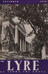The Lyre of Alpha Chi Omega, Vol. 50, No. 1, November 1946