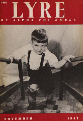 The Lyre of Alpha Chi Omega, Vol. 51, No. 1, November 1947