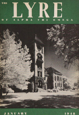 The Lyre of Alpha Chi Omega, Vol. 51, No. 2, January 1948