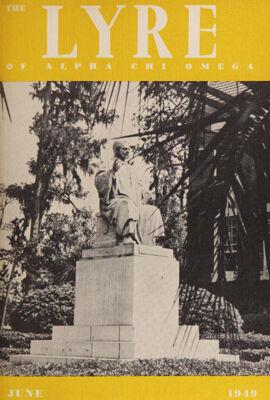 The Lyre of Alpha Chi Omega, Vol. 52, No. 4, June 1949