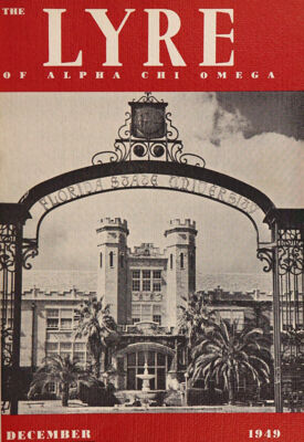 The Lyre of Alpha Chi Omega, Vol. 53, No. 2, December 1949