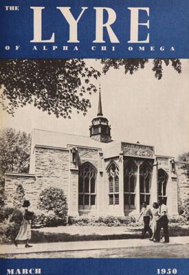 The Lyre of Alpha Chi Omega, Vol. 53, No. 3, March 1950