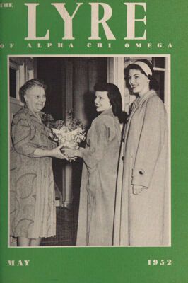 The Lyre of Alpha Chi Omega, Vol. 55, No. 4, May 1952