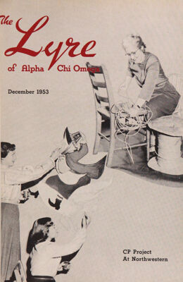 The Lyre of Alpha Chi Omega, Vol. 57, No. 2, December 1953