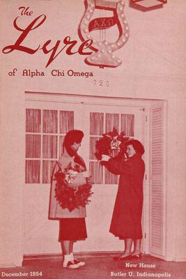 The Lyre of Alpha Chi Omega, Vol. 58, No. 2, December 1954