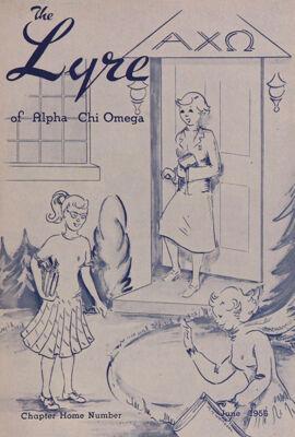 The Lyre of Alpha Chi Omega, Vol. 59, No. 4, June 1956