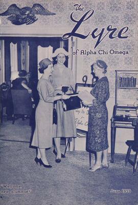 The Lyre of Alpha Chi Omega, Vol. 62, No. 4, June 1959