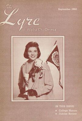 The Lyre of Alpha Chi Omega, Vol. 64, No. 1, September 1960