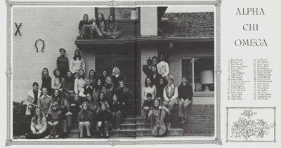 Gamma Delta Chapter Photograph, c. 1972