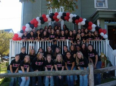 Theta Tau Lifetime Members on Bid Day, September, 2006