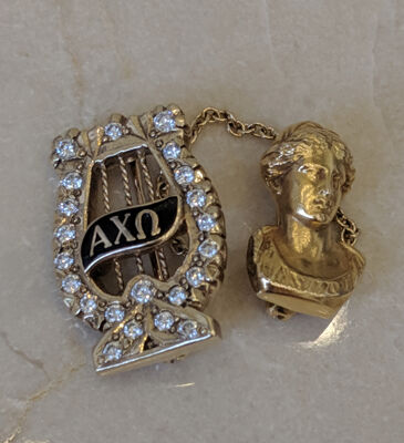 National President Badge with Hera Head
