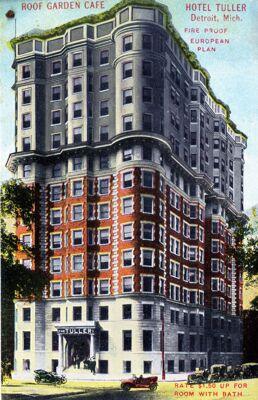Hotel Tuller Postcard, 1910