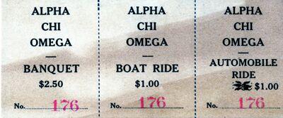Convention Transportation Tickets, 1910