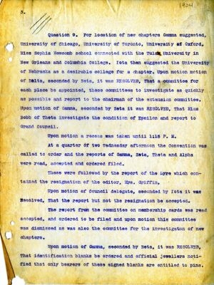 Grand Chapter Convention Minutes, 1904