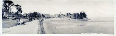 Panorama of Kings Beach, 1924