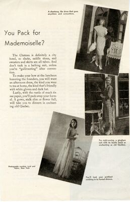 What To Wear to Convention, Lyre article, 1947
