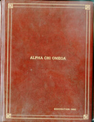 1955 National Convention Signature Book