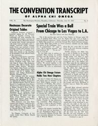 The Convention Transcript, 1957 National Convention