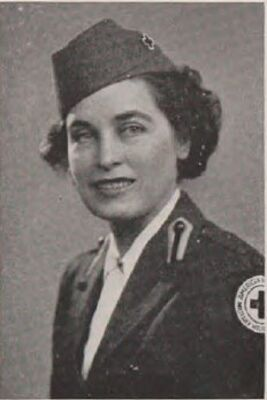 Marguerite Graham, Red Cross, 1944