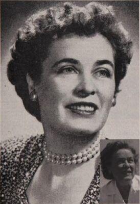 Marguerite Graham McWhirter, Foundation Donor, 1951