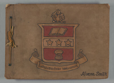 Alvena Smith Scrapbook, 1921-24