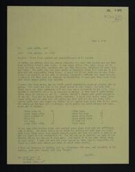 Lois Burdick to Lois Tullis Letter, July 2, 1975