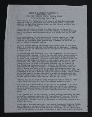 Report of P-D Meeting in Province IX, March 29-31, 1963