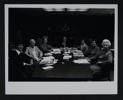 Alpha Chi Omega Foundation Board of Trustees Photograph, c. 1979