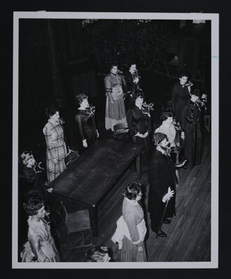 Founding Pageant Cast Taking Curtain Call at Convention Photograph, June 29, 1960