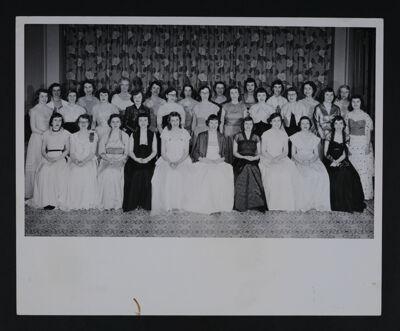 Gamma Xi Chapter Charter Members Photograph, April 21, 1951