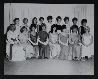 Epsilon Kappa Chapter Charter Members Photograph, December 7, 1968