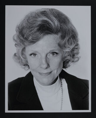 Mary Ayres Portrait Photograph