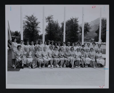 Mothers and Daughters at Convention Photograph, July 1, 1964