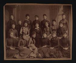 Alpha Chapter Photograph, c. 1889