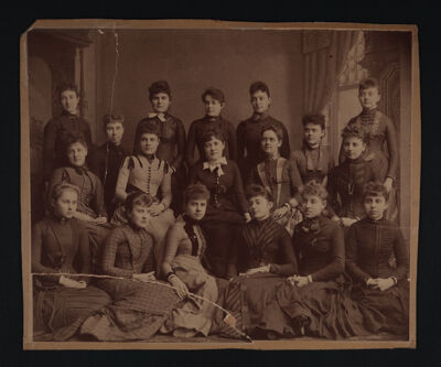Alpha Chapter Photograph, c. 1889