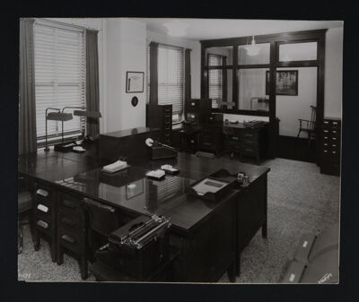 Central Office in the Chamber of Commerce Photograph, c. 1949