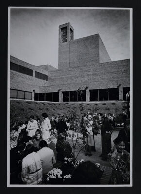 Founders' Bell Tower Dedication Photograph, October 1976
