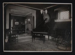 Alpha Chapter House Interior Photograph, 1909-13
