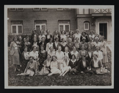 Alpha Chapter Photograph, May 21, 1931