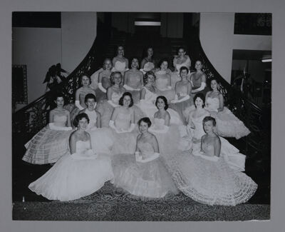 Gamma Pi Chapter Chapter Members Photograph, 1959