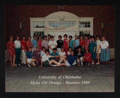 Psi Chapter Reunion Photograph, 1989