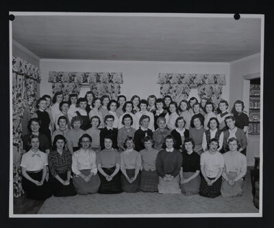 Beta Chi Chapter Photograph, 1954