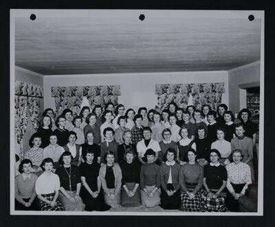 Beta Chi Chapter Photograph, Fall 1954