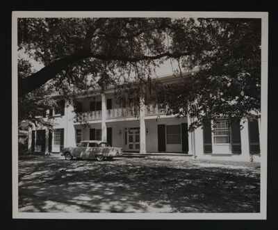 Beta Eta Chapter House Photograph, 1956