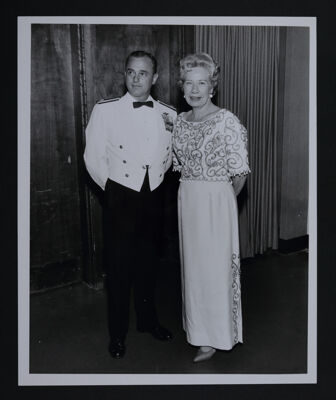 Jessie Payne and Major Keenan at Convention Opening Banquet Photograph, July 1, 1964