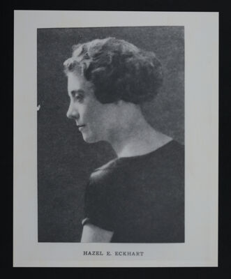Hazel Eckhart Portrait Reproduction Photograph