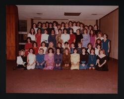 Zeta Psi Chapter at Installation Photograph, November 10, 1984