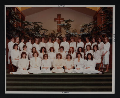 Zeta Rho Chapter at Installation Photograph, January 15, 1983