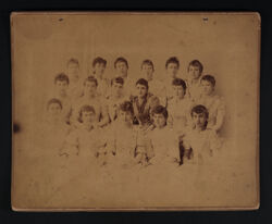 Beta Chapter Cabinet Card, c. 1891